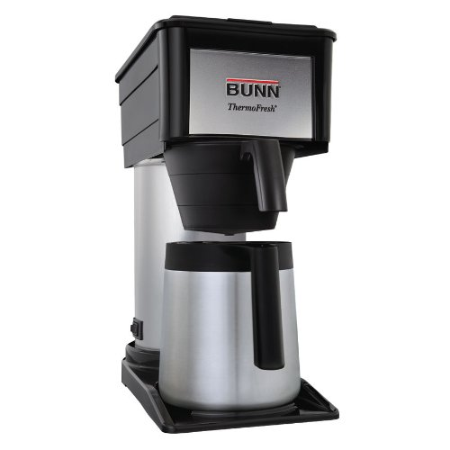 New Bunn Durable Black Btx-b 10 Cup Velocity Brew Thermal Carafe Coffee Maker Black
