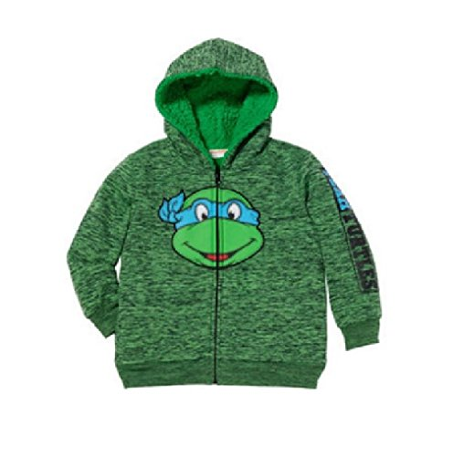 C-Life Superhero TMNT Little Boys Full Zip Hoodies Jacket (2t, Ninja -