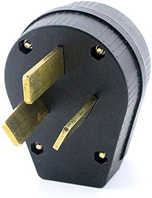 Fine Ghp 50Amp Welding Plug V Crowfoot Type Socket Male 125V 220V 230V Wiring Digital Resources Ntnesshebarightsorg