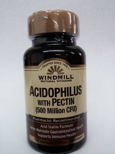 Windmill Acidophilus with Pectin (1 Billion Cfu) 100 Caps