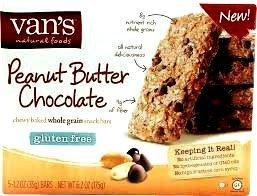 Vans Peanut Butter Chocolate Snack Bar, 1.2 Ounce – 5 per pack – 6 packs per case.