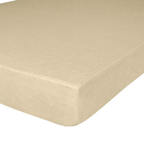 (Jersey Knit Twin XL Size Fitted Bottom Sheets, 39