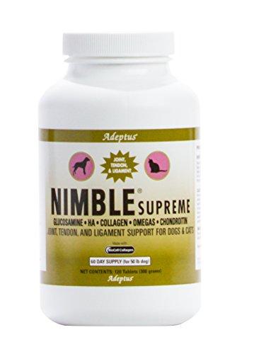 Adeptus Nutrition 120 Tablets Nimble Supreme Pet Food, 4.5 x 4.5 x 6'' by Adeptus Nutrition