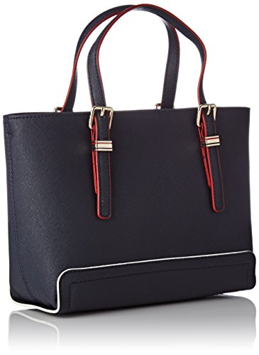 Tommy Hilfiger Honey Small Tote, Borse Tote Donna Blu (Tommy Navy)
