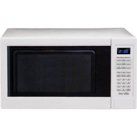 HB 1.3 cu ft 1000 watt microwave (White) by HB-101