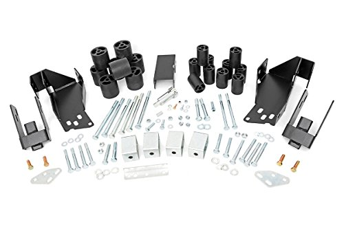 3-Inch GM Body Lift Kit 07-13 Silverado/Sierra 1500 2WD/4WD (Rough Country 3 Lift)