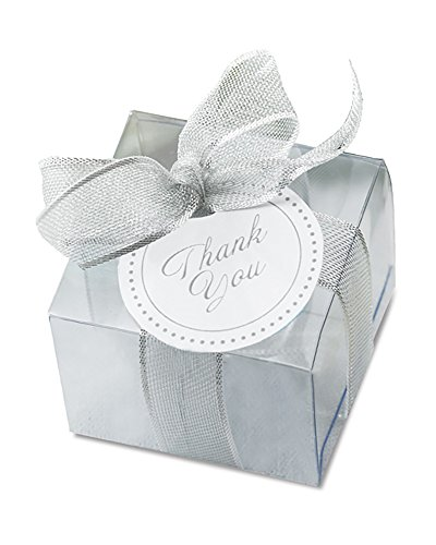 Clear Favor Box Kit - 50 Count -