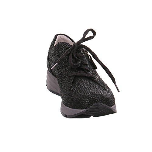 Waldläufer Waldläufer Sneaker Sneaker Donna Nero wYp6Z85x