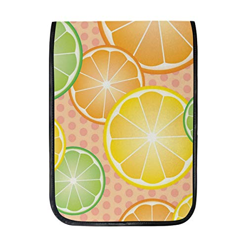 12 Inch Ipad IPad Pro Laptop Sleeve Canvas Notebook Tablet Pouch Cover for Homeschool, Travel, Etc Sour Lemon Fruit Picture ()
