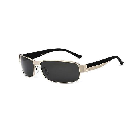 K-Y Gafas De Sol Negras De Marco Polarizado De Oro De Los ...