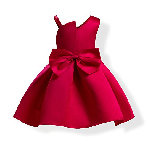 one shoulder bow party dress - 5