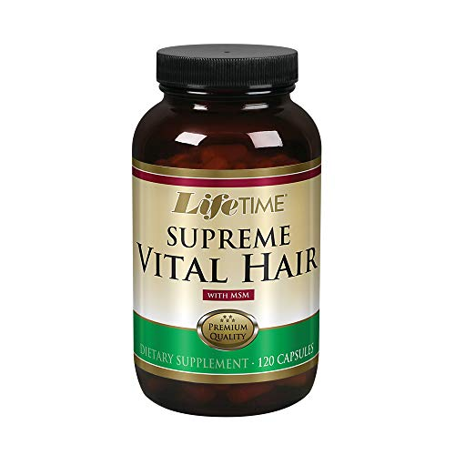 Lifetime Supreme Vital Hair With Msm, 120 Cap