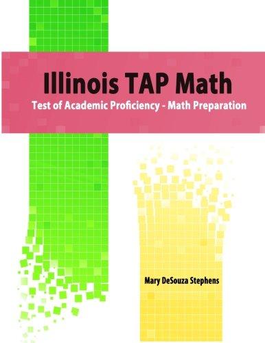 Illinois TAP Math: Test of Academic Proficiency - Math Preparation