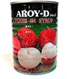 AROY-D lychee can (sugar water litchi)
