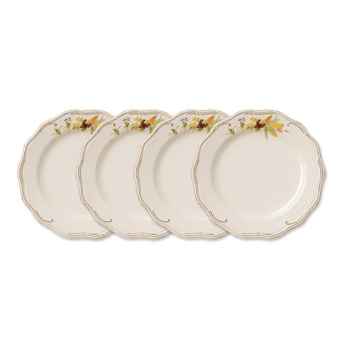 Pfaltzgraff Plymouth Dinner Plate, 11-1/2-Inch, Set of 4