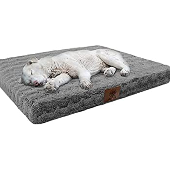 Amazon.com: American Kennel Club AKC9680BROWN - Cama para ...