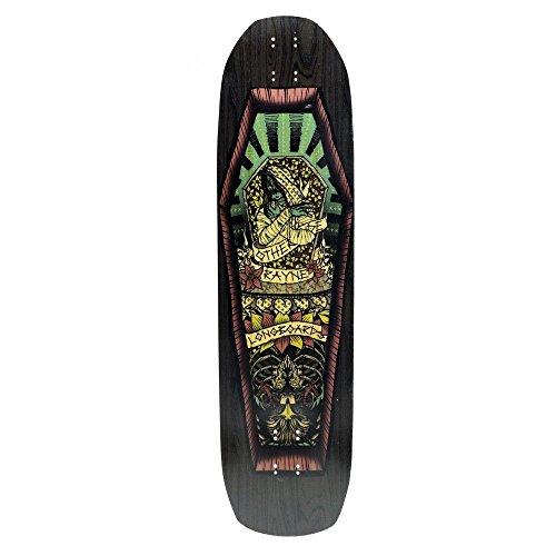 Rayne Longboards Otherside V1 Longboard, Directional Top Mount Freeride Longboard Deck with Radial Drop 3-Stage Rocker and Kick-Tail, Vert-Lam Bamboo Core, Speed-Stiff