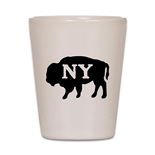 CafePress - Buffalo New York Shot Glass - Shot Glass, Unique and Funny Shot Glass]()