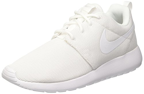 Nike Women's Roshe One Running Shoe, Black White 9