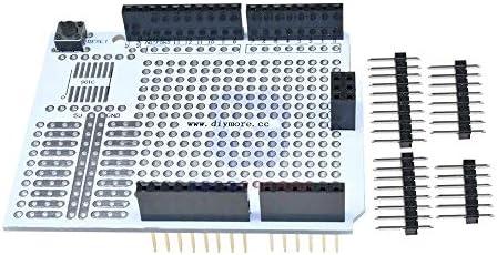 プロトタイプ PCB 開発パンボード拡張シールドボードブレッドボード Protoshield Arduino の Uno R3 1 Diy キット 2.54 ミリメートル