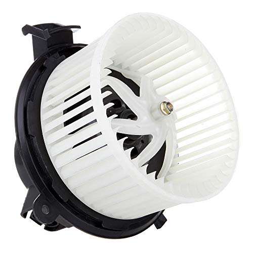 OCPTY A/C Heater Blower Motor ABS w/Fan Cage Air Conditioning HVAC fit for 2007-2010 Chevrolet Silverado 2500 HD /2007-2010 Chevrolet Silverado 3500 HD /2011-2012 Chevrolet Traverse