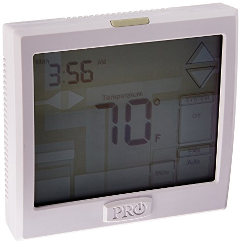 Pro1 Iaq T925 Touchscreen Heat Pump Thermostat With Large Easy To Read Display