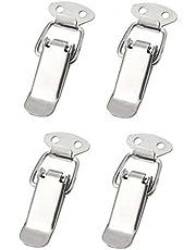 4 x spansluiting roestvrij staal, ideaal als kistsluiting klapsluiting - verschillende maten en varianten (65 mm, normaal)