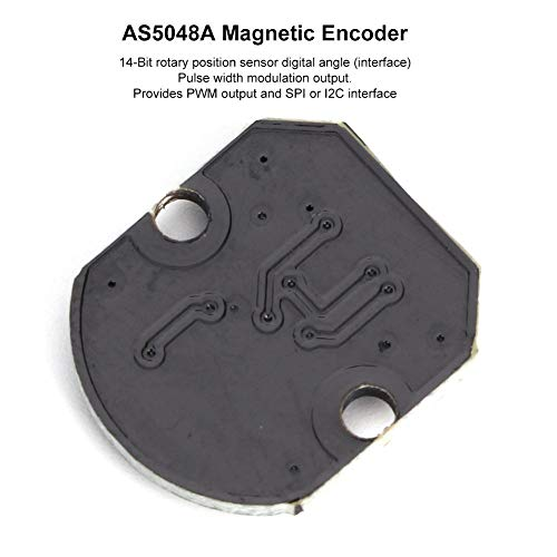AS5048A Magnetic Encoder PWM/Serial Peripheral Interface Port High Accuracy Module 5V DC Angle Accuracy 0.05°