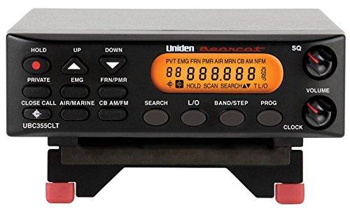 Uniden UBC355CLT Base Scanner Receiver
