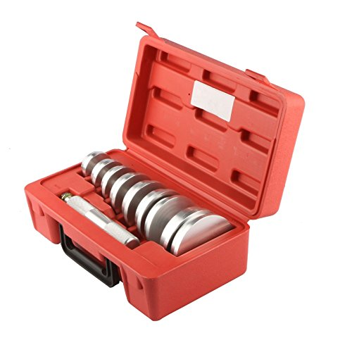 MOSTPLUS Bearing Race and Seal Bush Driver Set w/Carrying Case-Universal Kit for Automotive Wheel Bearings 10 ()