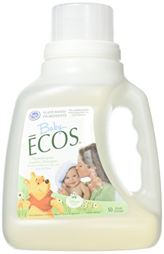 Earth Friendly Baby ECOS Disney Laundry Detergent Free and Clear - 50 fl oz (Earth Friendly Products Ecos Laundry)