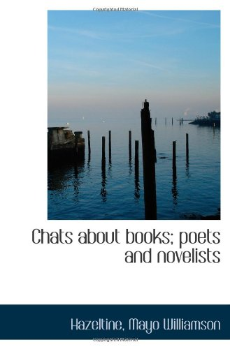 Download Chats about books; poets and novelists PDF