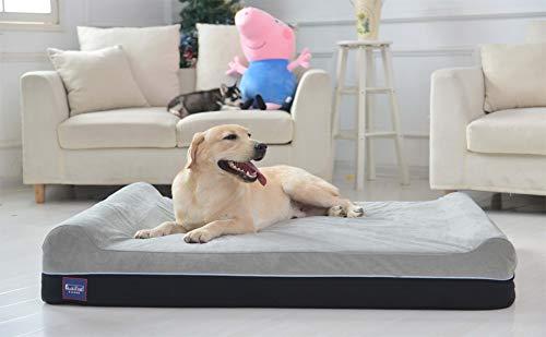 Laifug Orthopedic Memory Foam Extra Large Dog Bed Pillow(50