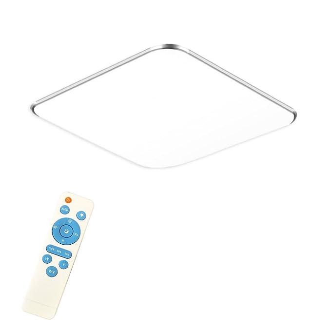 24W regulable Ultradelgado LED luz de techo moderno lámpara de techo Lámpara de vestíbulo dormitorio cocina Ahorro de energía luz luz de la pared ...