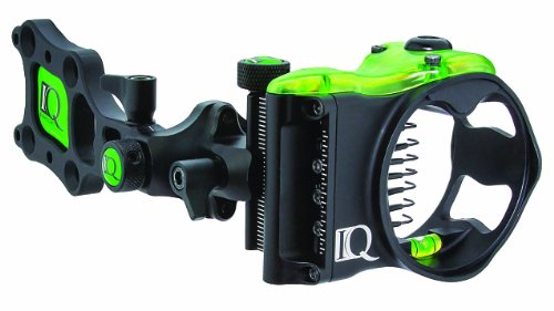 FeraDyne IQ Bowsights 7-Pin Micro Bowsight with Retina Lock Technology,Right Hand