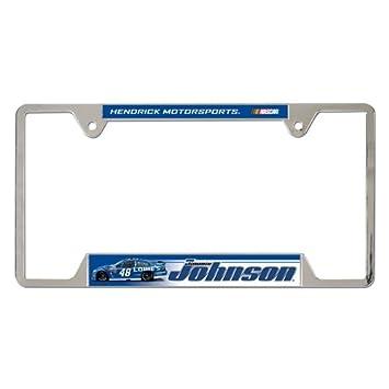NASCAR Metal License Plate Frame
