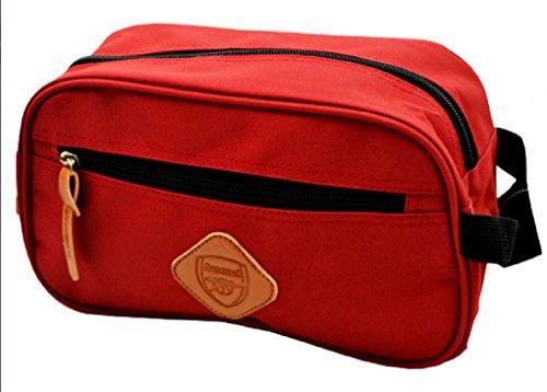 Arsenal FC Overnight Travel Men's Wash Toiletries Gym Shaving Bag
