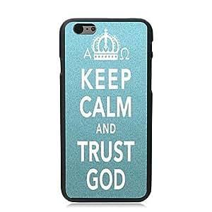 GX mantener estuche rígido calma y diseño dios de la confianza para el iphone 6 más