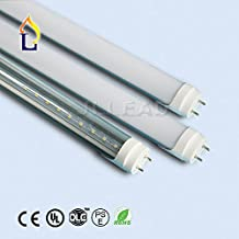 (100 PACK) T8 LED Tube Light 4FT Retrofit Kit Tube Lamp G13 18W (60W equivalent), 5000k (Cool White) UL-Listed & DLC-qualified Pack