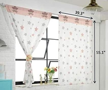My Mouse Friend Tori bebe Cute Playroom Baby Kids Room Curtains for Small Windows 1 Panel