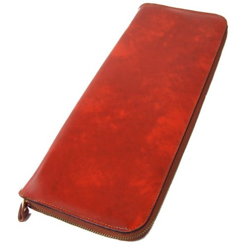 Pratesi Italian Leather Buontalenti Hanging Leather Tie Case, Brown by Pratesi Leather