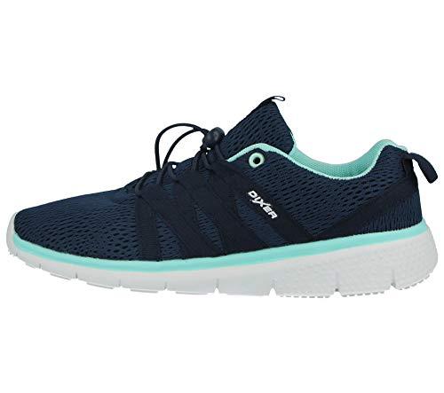 Lt nbsp;Galop donna Navy con lacci leggero scarpe comfort sport Blue casual Da 816109 BUP6qB