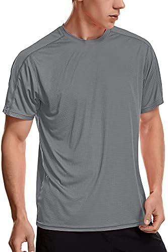 Zengjo Mens Athletic Shirts Short Sleeve Workout Shirt