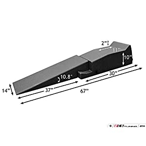 "Schwaben 006175SCH01A Ramp Extension (67"" Low Profile Car Ramp - Pair)"