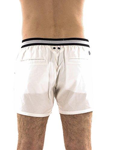 Brunotti Boardshort Beachwear Schwimmhose weiß Ceopardo Gummibund Gr. L 161214604 lvAkAKPD