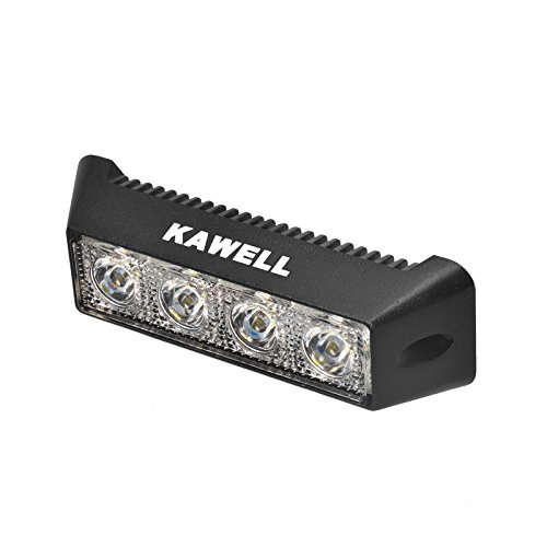 Kawell LED Light Bar 12W 4.2 Inches Flood LED Off Road Lights Super Bright Driving Fog Light Boat Lights LED Driving Work Lights SUV Jeep Lamp