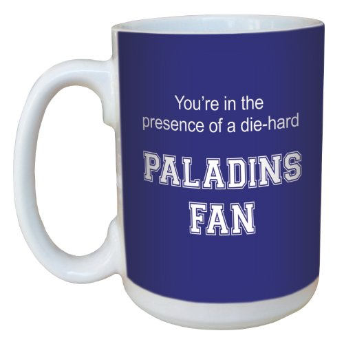 Tree-Free Greetings lm44712 Paladins College Basketball Ceramic Mug with Full-Sized Handle, 15-Ounce