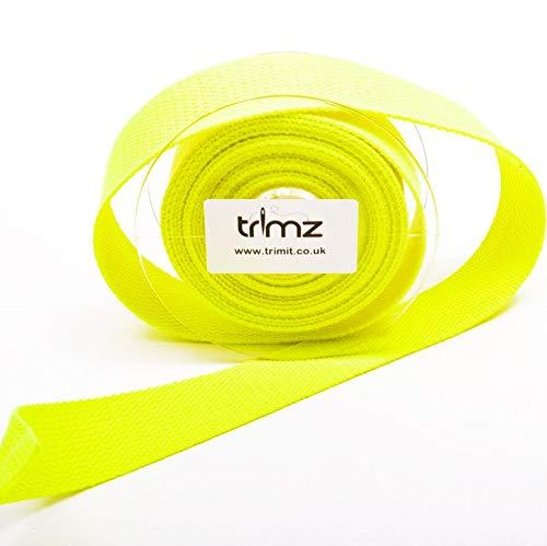 color amarillo ne/ón 5 m x 30 mm Trimz Cincha