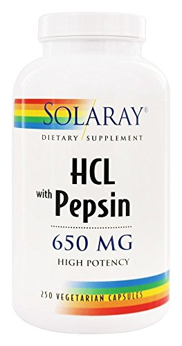 Solaray Potency Pepsin 2VCapsules Count product image