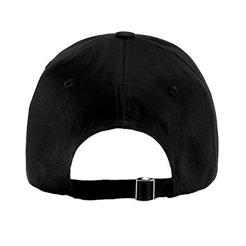 Dados Ajustable Hombres Estilo de Mujeres Sombrero Negro Vintage Gorra Béisbol Primavera Bordado Sombreros Verano 4RFUwxX